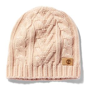 Timberland Women's Cable-Knit Winter Beanie
