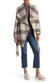 Tahari Layla Wrap Coat