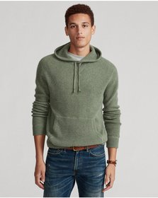 Ralph Lauren Washable Cashmere Hooded Sweater