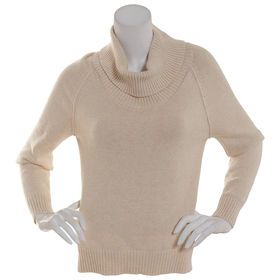 Womens Jeanne Pierre Long Sleeve Perfect Cowl Neck