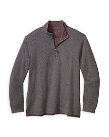 Tommy Bahama - Alpine View Half Zip Reversible Swe