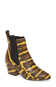Matisse Morgan Snake Embossed Boot