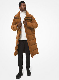 Michael Kors Quilted Cotton Puffer Coat