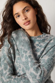 Anthropologie Taryne Spotted Sweater