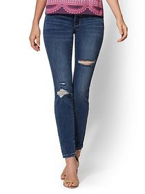 Tall High-Waisted Super-Skinny Jeans - New York &
