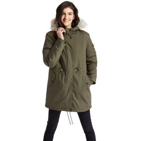 Timberland Women's Mt Kelsey Fleece-Lined Parka