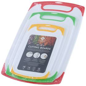 Multi 3pc. Polypropylene Cutting Board