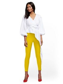 Tall Whitney High-Waisted Pull-On Ankle Pant - New