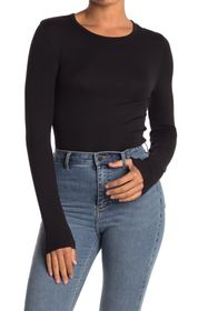 Splendid Crew Neck Long Sleeve Top