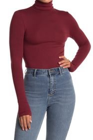 Splendid Long Sleeve Turtleneck Top