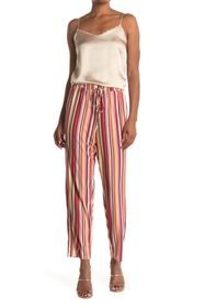 BCBGeneration Striped Knit Jogger Pants