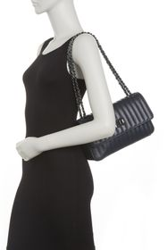 Markese Leather Quilted Crossbody Bag