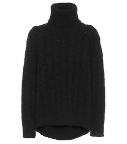 Dolce & Gabbana Cable-knit wool and cashmere sweat