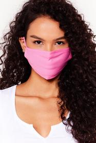 Nasty Gal Nude All Mouth Fashion Face Mask