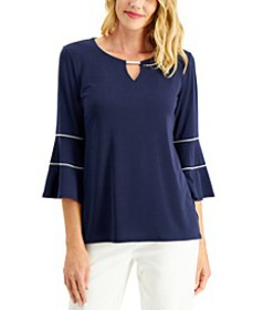 Embellished Bell-Sleeve Top, Created for Macy's