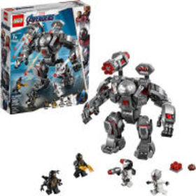 Title: LEGO Super Heroes War Machine Buster 76124