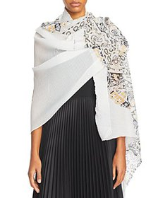 Echo - Paisley Butterfly Pleated Wrap