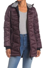 Lole Faith Faux Fur Lined Hood Quilted Down Jacket