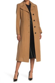 Anne Klein Notch Collar Trench Coat