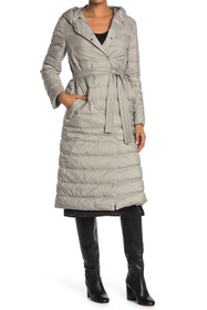 Theory Feather Double Puffer Coat