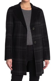 Tahari Jayden Plaid Topper