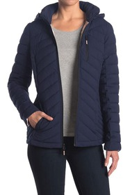 Nautica Packable Hood Quilted Jacket