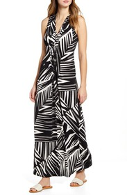 Tommy Bahama Bangle Stripe Sleeveless Maxi Dress