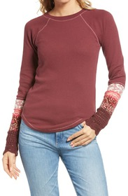 Free People In the Mix Cuffed Sweater