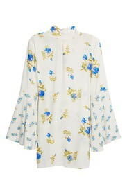 Free People Tate Floral Tunic Top