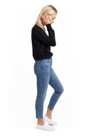 Goodlife Micro Terry Cropped Sweater