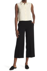 Theory Admiral Wide Leg Pull-On Pants
