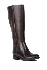 GEOX Felicity Leather Knee High Boot