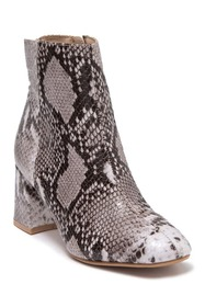 Chinese Laundry Daria Snake Print Bootie