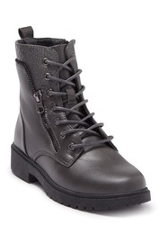 Wanted Mission Lace-Up Combat Boot