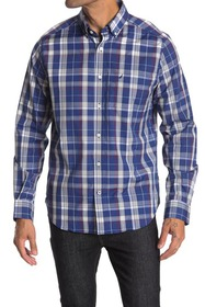 Nautica Plaid Button-Down Dress Shirt