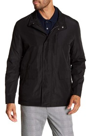 Cole Haan Packable Button Zip Front Jacket