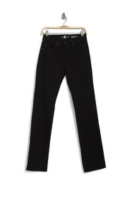 7 For All Mankind Standard Squiggle Black Straight