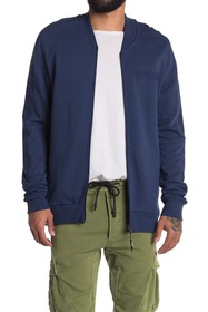Oakley Reverse French Terry Zip Bomber Sweatshirt