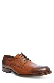 Steve Madden Maintain Leather Woven Lace-Up Derby