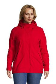 Lands End Women's Plus Size Hooded Squall Winter J