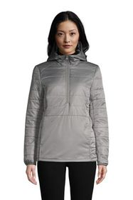 Lands End Women's Insulated Quilted Pullover Jacke