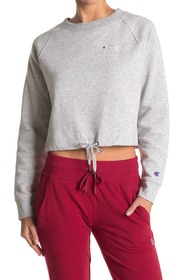 Champion Campus Fleece Crop Sweatshirt