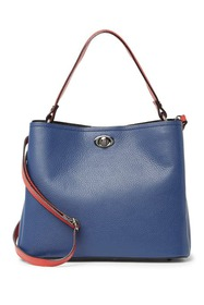 Markese Leather Top Handle Tote