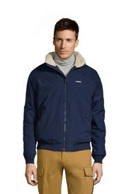 Lands End Men's Sherpa Lined Classic Squall Jacket