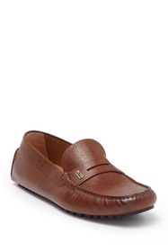 BOSS Leather Moccasin Driver