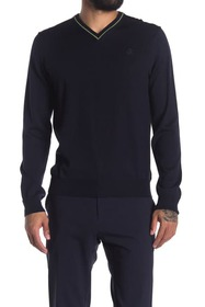 Roberto Cavalli V-Neck Long Sleeve Sweater