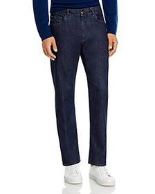 PS Paul Smith - Tapered Fit Jeans in Blue Gray