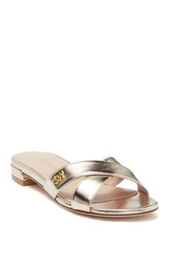Stuart Weitzman Lunaria Strappy Leather Flat