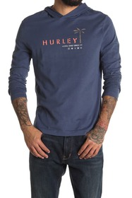 Hurley Tropical Mind State Long Sleeve Hooded T-Sh