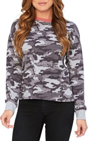 Threads 4 Thought Journey Camo Print Pullover - Wo